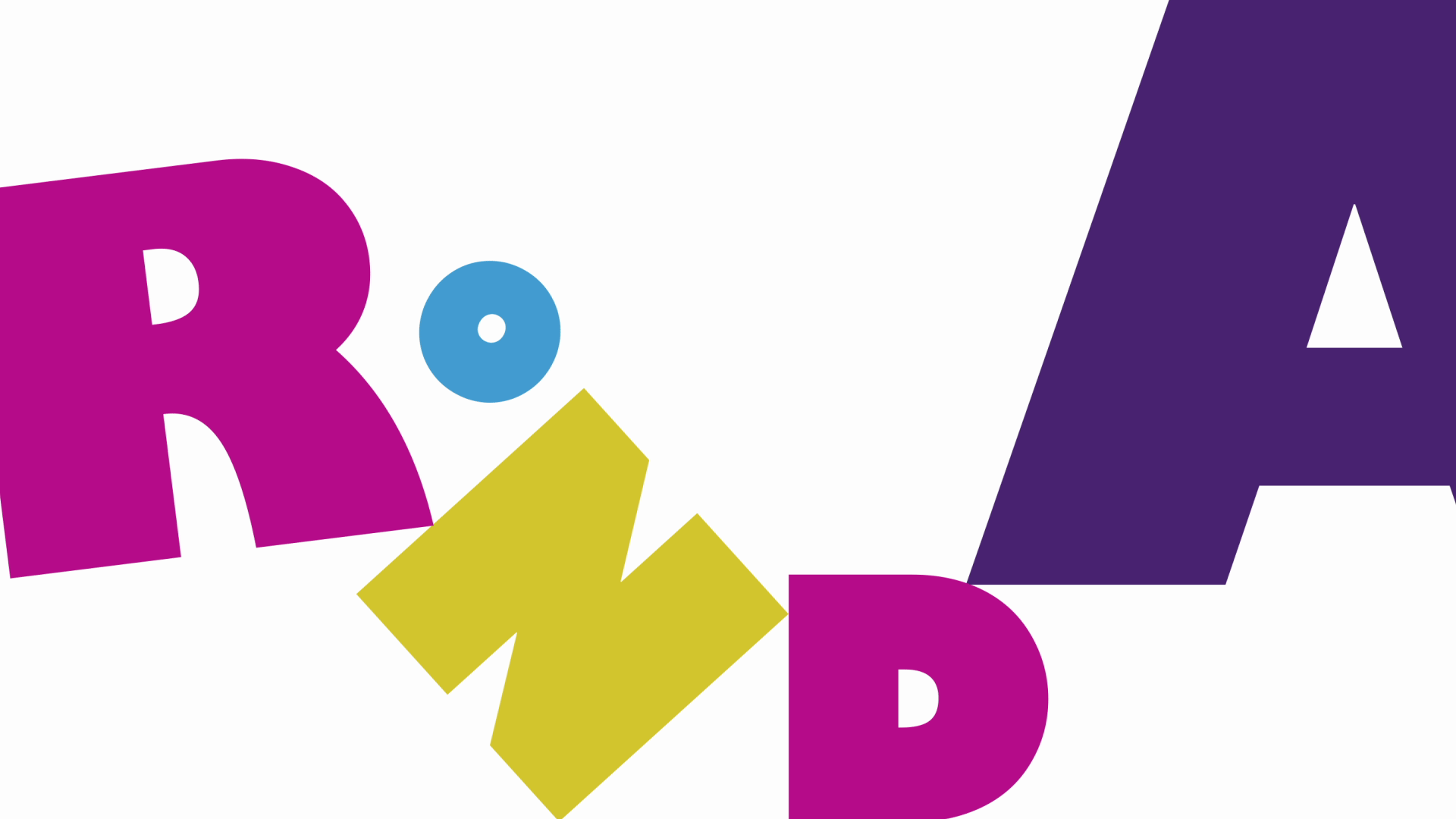 Ronda - Speaker title for a motion graphics conference