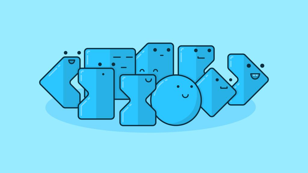 illustration of after effects keyframes