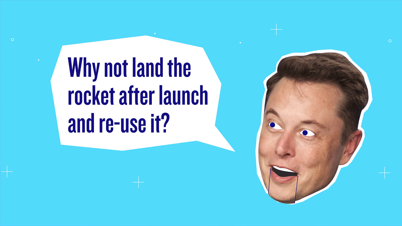 thumbnail of a video showing Elon Musk head saying