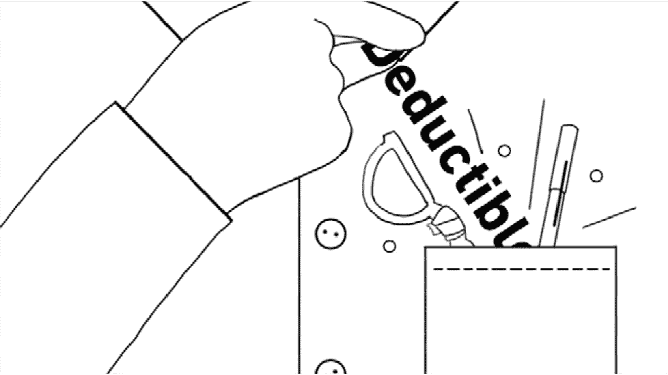 sketch for a series of Geico's explainers videos. It shows a person taking something from their pocket