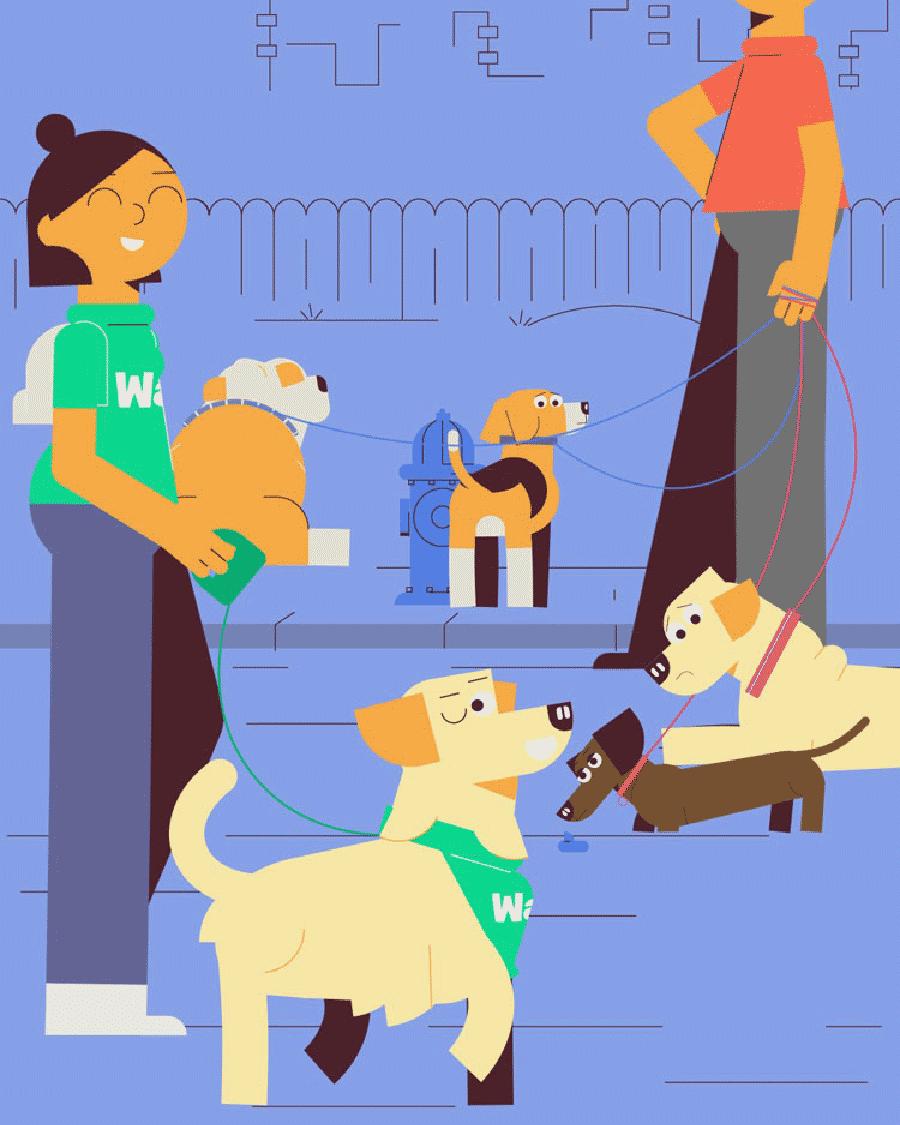 Your best friend's walk